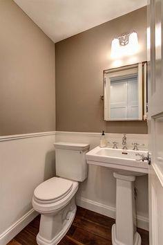 #hardwoodfloors in bathroom cc:decorhomeideas