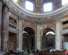 Sant Andrea al Quirinale - Bernini    © 2006 Mary Ann Sullivan