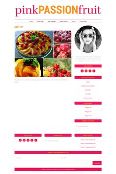 "Download Responsive Wordpress Genesis Theme ""Pink Passion Fruit"""