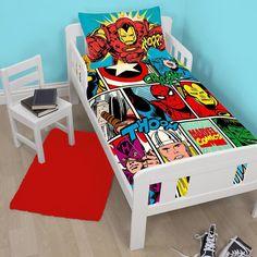 superhero baby - fitted crib sheet - newborn, baby, infant