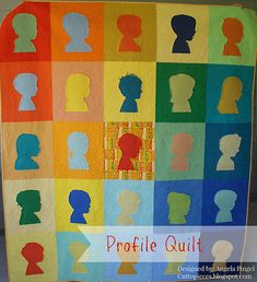 Profile Quilt at Cut to Pieces