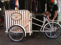 Beautiful Pashley Classic 33 Ice Cream Vending Trike With Cold Plater Freezer Thai Ice Cream, Ice Cream Stand, Buisness, Food Truck, Street Food, Lemonade, Freezer, Pixie, Cart