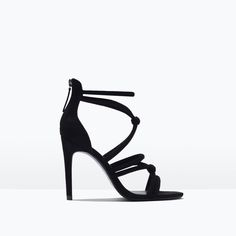 ZARA - SHOES & BAGS - KNOTTED HIGH-HEEL SANDALS