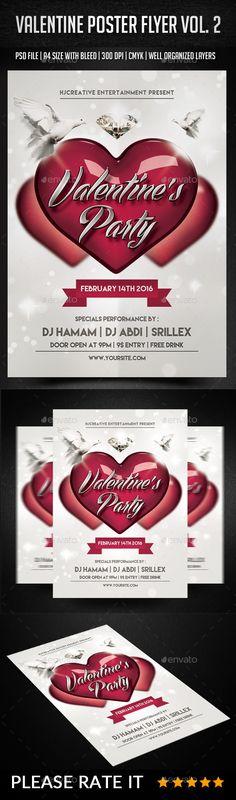 Valentine Poster Flyer Vol. 2