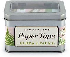 $17.95 Cavallini Flora & Fauna Paper Tape