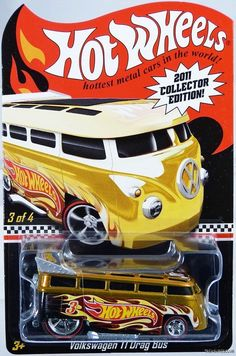 Picked this one up from my new buddy Mike. Hot Wheels Volkswagen T1 Drag Bus