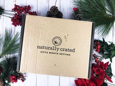 Subscription Boxes, Crates, Eco Friendly, Gift Wrapping, Organic, Natural, Winter, Gifts, Products
