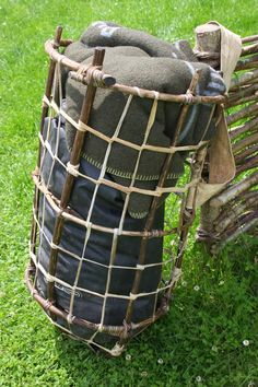 Wilderness Survival Skills and Bushcraft Antics: Primitive Packs – load carrying equipment made fro...