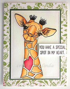 Giraffe Drawing, Giraffe Painting, Giraffe Art, Funny Giraffe, Cute Giraffe, Giraffe Pictures, Cute Pictures, Impression Obsession Cards, Animal Cards