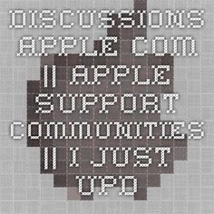 discussions.apple.com ||  Apple Support Communities   || I just updated to Lion and cannot access the files I saved with Time Machine
