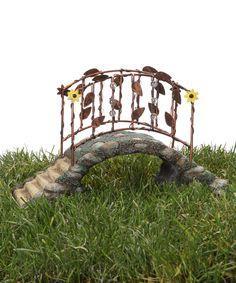 Look what I found on #zulily! Fairy Bridge Figurine by Grasslands Road #zulilyfinds