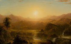 Frederic Edwin Church, The Andes of Ecuador, c. 1855, HAA - Frederic Edwin…