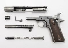 Colt 1911, a century old design mimicked millions of times.