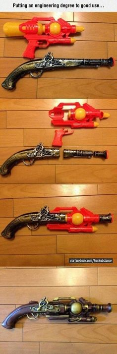 Remade Into A Wonder Weapon #lol #haha #funny