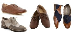 Must have for Androgynous chic wardrobe : Oxfords