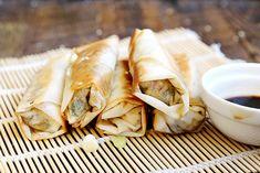 Non-Deep Fried Vegan Spring Rolls Recipe