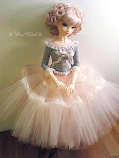 Badwitchs BJD Dollfie SD Girl outfit set Dreaming Ballerina