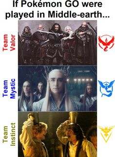 [Humor] If Pokémon GO were played in Middle-earth...
