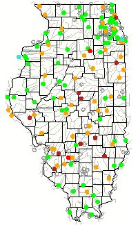 Illinois Rivers Map Maps Pinterest Rivers And Destinations - Map of illinois rivers