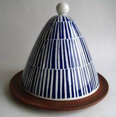 RARE Rorstrand Runan Cheese Bell Dome Westman Swedish Art Pottery | eBay