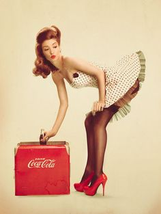 pin up girl ;)
