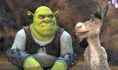 The tricks to pushing through act two using the film 'Shrek' as an example. Arte Disney, Disney Art, Disney Movies, Shrek E Fiona, Princesa Fiona, Badass Movie, Trippy Wallpaper, Fantasy Dragon, Comic Book Characters