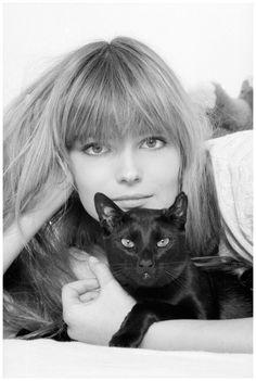 Paulina Porizkova The supermodel in 1985, competing to see who can look more feline Neal Preston:Corbis