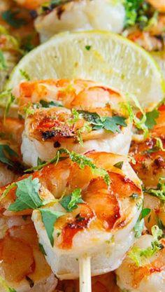 Cilantro Lime Grilled Shrimp