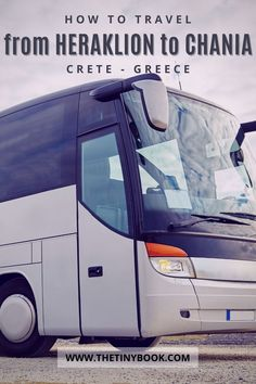 Discover all the options you have to get from Heraklion to Chania during your holiday in Crete. Travel by bus, taxi, or drive! How to move around in Crete, Greece