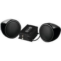 Soundstorm Motorcycle And Utv Speaker & Amp System (with Bluetooth) (pack of 1 Ea)
