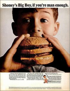 Before the Big Mac, there was the Big Boy. (1965)