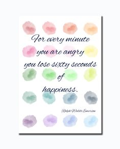 Instant Download PrintHappiness Quote Print Art by HappyChubbyStar