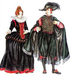 История женского костюма в голландии xviii век