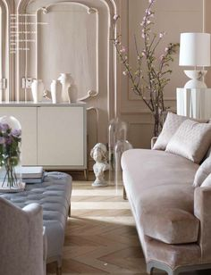 Blush Interiors, Baker Furniture Baker Furniture saved to The Jean-Louis Deniot Collection Classic Interior, French Interior, Best Interior, Decoration Chic, Baker Furniture, Top Interior Designers, Living Room Inspiration, Design Inspiration, Parisian Style