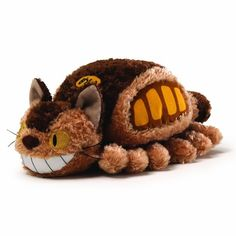 Catbus Fluffy Plush | 47 Insanely Adorable Studio Ghibli Items You Need Immediately