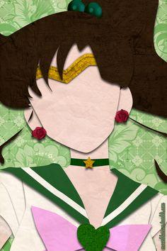 Sailor Jupiter (faux papercraft, moonblossom.tumblr.com)