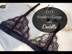 Mademoiselle Blue Grey - DIY soutien groge dentelle, tuto, bralette lace, couture, sewing, creation, underwear, sous vetements, dentelle calais