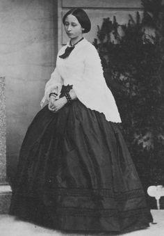 """ Princess Alice, later Grand Duchess of Hesse at Osborne, July 1859. """