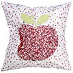 Patchwork Apple Cushion
