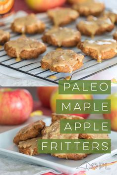 Diabetic Desserts, Paleo Dessert, Healthy Sweets, Sugar Free Cookies, Paleo Cookies, Cookies Kids, Apple Dessert Recipes, Paleo Recipes, How To Eat Paleo