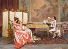 The Recital (Vittorio Reggianini)