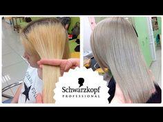Coloring BLOND ❄ this Schwarzkopf / Schwarzkopf Professional Couleur Schwarzkopf, Schwarzkopf Igora, Silver Blonde, Silver Hair, Blonde Color, Hair Color, Schwarzkopf Professional, Hair Inspiration, Hair Beauty