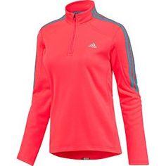 Adidas Women's Response Fleece Jacket Sweatshirt-Pink « Clothing Impulse
