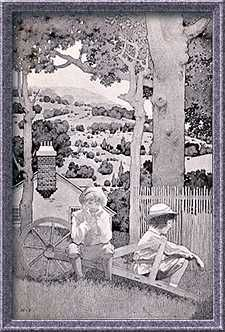 Maxfield Parrish - Golden Age