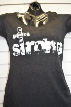 God Wod Strong Womens tee. #wodgear #wodapparel #wodfit #crossfit #crossfitapparel #apparel #gym #clothes