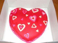 Taart valentijn