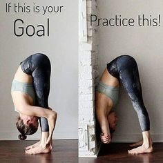 Goal & Practice : flexibility Fitness Workouts, Yoga Fitness, Fitness Motivation, Sport Fitness, Fitness Tips, Butt Workout, Friday Motivation, Yoga Bewegungen, Yoga Moves