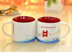 Starbucks San Francisco Mug - You Are Here Collection - 14oz - NEW #Starbucks