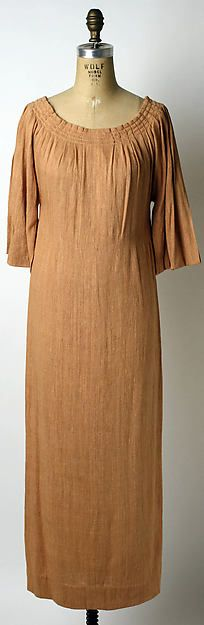 Dinner dress (image 1) | House of Lanvin | French | spring/summer 1934 | silk | Metropolitan Museum of Art | Accession Number: 1979.344.8