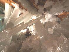 Los Crystales Cave, Naica, Mexico